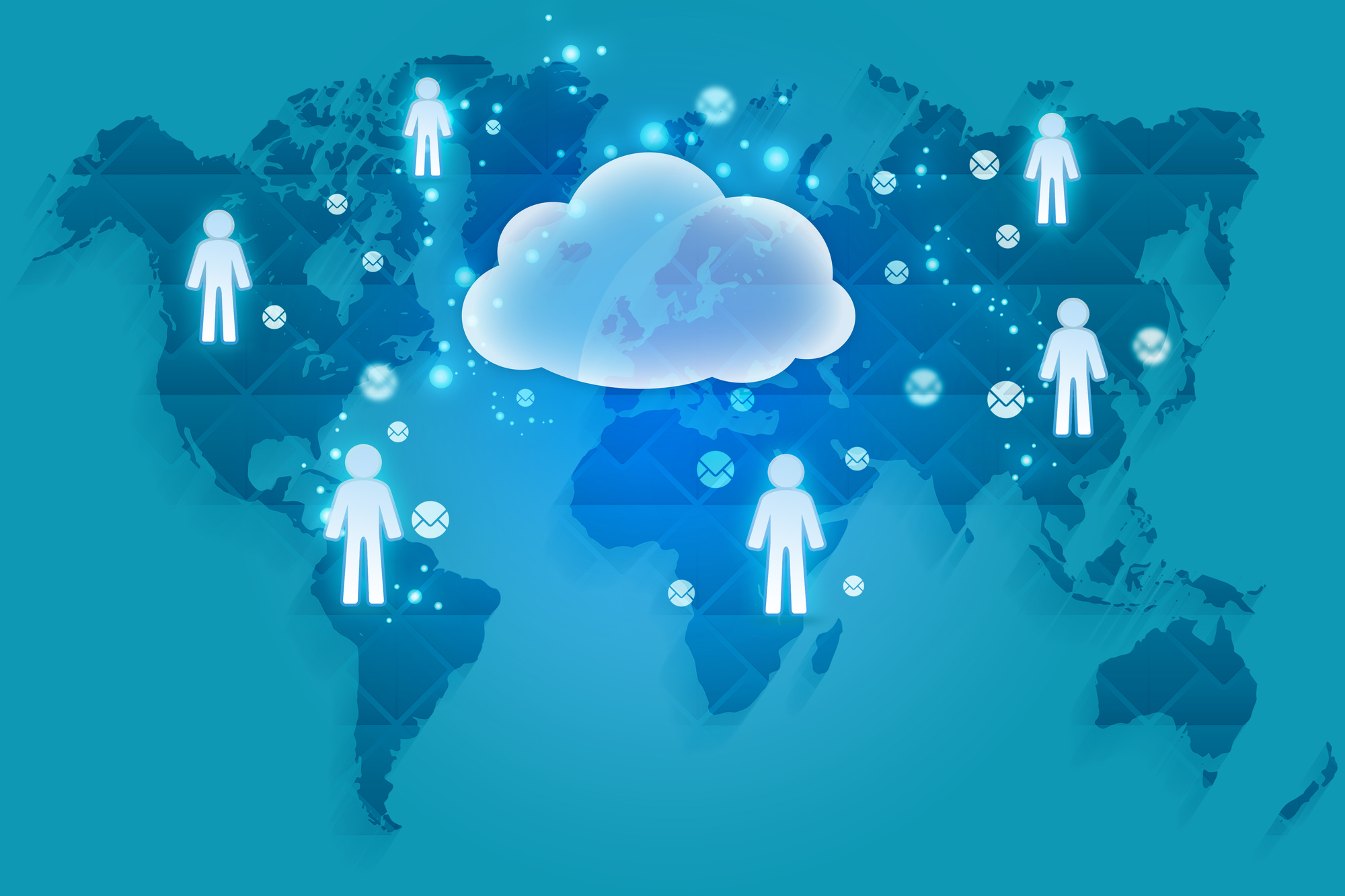 Storing content in the cloud